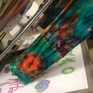 TKO By tawny kitaen Dresses - Beautiful tie-dye dress made by TKO By Tawny kitae